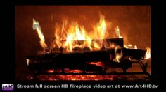 Live Screensavers Fireplace HD | 60 Minute HD Fireplace Screensaver Art4HD  1080 Video TV Art