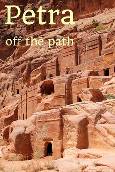 Visiting Petra in Jordan. How much does it cost? Where are off-the-beaten-path trails? Why it's good to spend there 2 days? All answers in post!:
