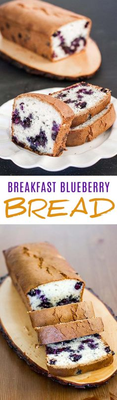 This recipe is a copycat version of the delicious blueberry muffins from Costco but made into a bread form.