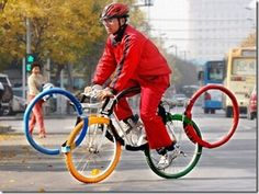 Olympics!  Bicycles!  Good times!