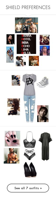 """SHIELD PREFERENCES"" by mrs4mbrose ❤ liked on Polyvore featuring WWE, Topshop, Vince, Converse, OPI, Boohoo, Giuseppe Zanotti, Majestic, NIKE and Lime Crime"