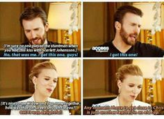 If Romanogers became canon, not only would Marvel be swamped with happy fans they'd have happy actors too.