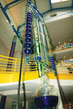 Water Clock at The Children's Museum on 30th Street - it's fun to watch this at the top of the hour.
