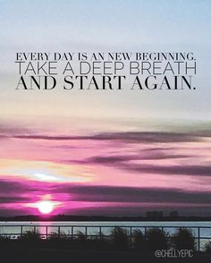Every day is a new gift. #newbeginnings #everydayisagift #loveeverymoment @chellyepic