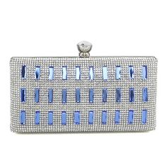 Metal/Rhinestone Wedding/Special Occasion Clutches/Evening Handbag with Acrylic Diamond (More Colors)