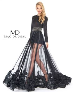 474d45510083 Mac Duggal designer dresses have turned heads for 30 years. Discover why  his prom dresses