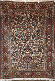 A truly amazing quality Isfahan rug - now sold