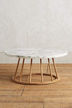 Hollyton Coffee Table, Circle - anthropologie.com