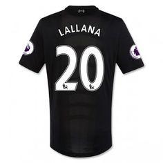 Liverpool 16-17 Adam Lallana 20 Bortatröja Kortärmad  #Fotbollströjor