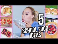 Here are some tasty food ideas for back to school! GET THIS VIDEO TO 500,000 LIKES! Brooklyn and Baileys Video!: http://youtu.be/MovoyQbeKSM MEET ME! Going o...