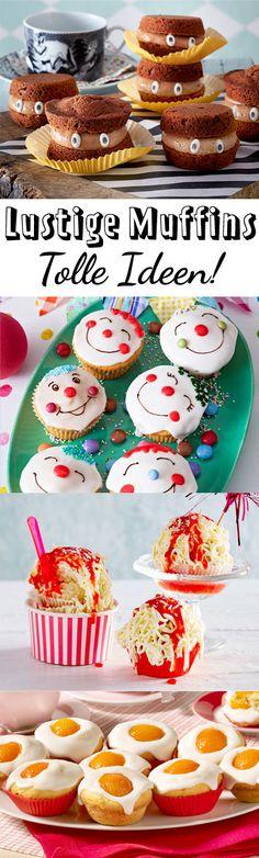 Hier findest du für den #Kindergeburtstag für #Karneval oder die #Party genau den richtigen #Muffin