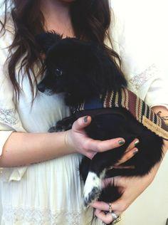 dog poncho (small size)