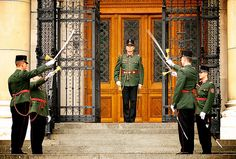 Hungarian Parlimentary Guards