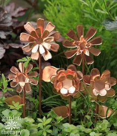 These Copper Garden Art Flowers Will Never Stop Blooming – Spellbinders