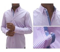 Stone Rose Shirts ROM 3123 Pink Lavender