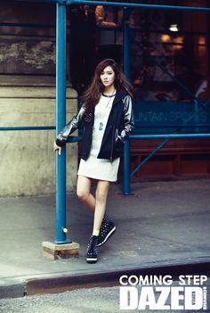 SNSD's Jessica // Dazed & Confused Korea