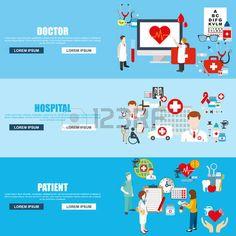 heart health care red: estilo de diseño plano ilustración vectorial moderno concepto para las banderas médica con el paciente del hospital médico, la salud y la atención sanitaria, la infografía médicos, elementos aislados para el sitio web de la bandera. iconos planos.