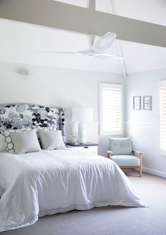 Bedroom floral headboard fabric, Modern floral headboard. Modern floral headboar ideas #Modernfloral #headboard #floralheadboard Public/Private