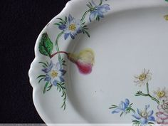 Porcelain & Pottery  - Marseille Faience dish, 18th century