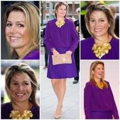 20-11-2014 Queen Maxima at the symposium from Tradition to Ambition of the NAJK in Utrecht.