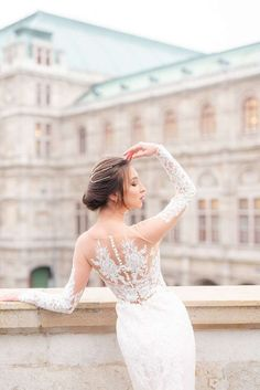 Blush colors wedding photo shooting near Opera, Vienna. Wedding Photoshoot, Wedding Attire, Wedding Gowns, Fine Art Wedding Photography, Blush Color, Vienna, Wedding Styles, Opera, Wedding Inspiration