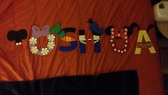 Mickey mouse clubhouse DIY... my first DIY project for my son's 1st birthday