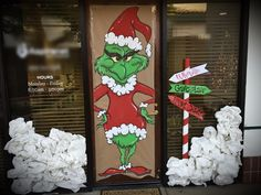 Whoville Grinch decor DIY backdrop, by MoonSage Creations