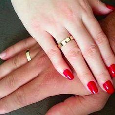 Alianças Rio de Janeiro RJ ♥ Casamento e Noivado em Ouro 18K - Reisman - Reisman…