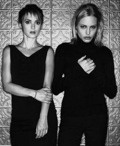 Winona Ryder & Angelina Jolie