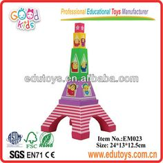 Magnetic Construction Toy City - Eiffel Tower