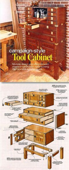 Build Tool Cabinet - Workshop Solutions Plans, Tips and Tricks | http://WoodArchivist.com