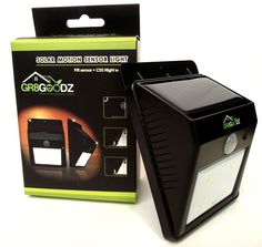 GR8 Goodz Solar Motion Sensor Light review! http://www.amazon.com/review/R3AV5I6CYOK9RD/ref=cm_cr_rdp_perm?ie=UTF8&ASIN=B00QU6GEEO