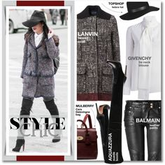 How To Wear Get The Look Trendy Tweed Outfit Idea 2017 - Fashion Trends Ready To Wear For Plus Size, Curvy Women Over 20, 30, 40, 50