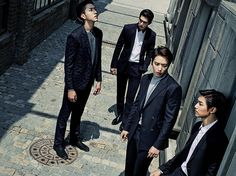 CNBLUE Is Rockin' The Class F/W 2015 Collection | Couch Kimchi