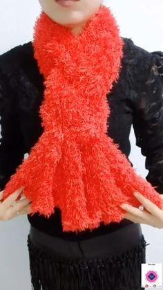 Ways To Tie Scarves, Ways To Wear A Scarf, How To Wear Scarves, Scarf Wearing Styles, Scarf Styles, Scarf Knots, Diy Scarf, Diy Fashion Hacks, Fashion Outfits