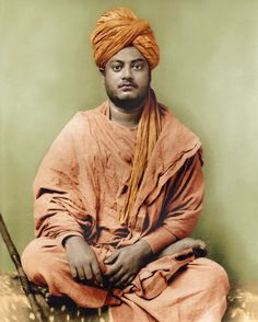 """My yoga novel """"Ashram"""" draws on ancient wisdom and practice. Swami Vivekananda born Narendra Nath Datta was an Indian Hindu monk. He was a key figure in the introduction of Indian philosophies of Vedanta and Yoga to the western world. Swami Vivekananda Wallpapers, Swami Vivekananda Quotes, Rare Pictures, Historical Pictures, God Pictures, Rare Photos, Hd Photos, Stock Photos, Sanskrit"""
