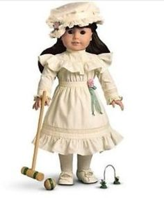 American Girl Doll Samantha | Details about American Girl Doll Samantha's Lawn Party Outfit -retired ...