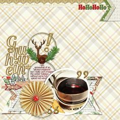 """instant holiday cheer - made with Elif Sahin """"A Little Sparkle"""" bundle"""