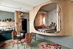 Whimsical Decor By Nathalie Lete, Kinderzimmer, kids room Living Spaces, Living Room, Kids Room Design, Deco Design, Home And Deco, Studio Apartment, Interior Inspiration, Interior Architecture, Home Interior