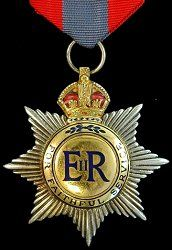 """UK/Imperial Service Medal (1902).  """"For faithful service"""""""