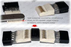 второй способ подключения soic-микросхем к адаптерам