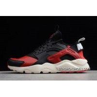 promo code 8ebd0 a35da Nike Air Huarache Run Ultra Black Red-White 875842-006 Best