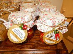 Lembrancinha para os convidados da festa de Open House: Compotas de Pimenta artesanais