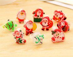 HUELE 20 Pcs Assorted Vegetable /& Fruit Pencil Erasers Puzzle Party Favors for Children School