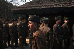 north korean soldier by david guttenfelder