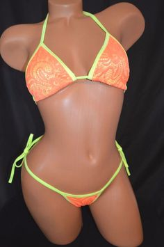 dance exotic wear Bikini set