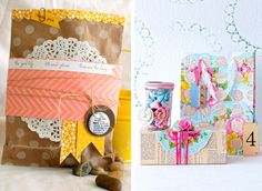 Bright paper, boxes, stickers, buttons and stamps with the wishes will help you to pack your gift very well! How to DIY gift wrapping: Ideas and Tips