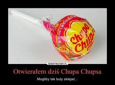 Otwierałem dziś Chupa Chupsa – Mogliby tak buty sklejać... Very Funny Memes, Wtf Funny, Polish Memes, Good Mood, Lol, Humor, Hilarious Memes, Humour, Funny Photos