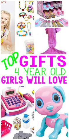 Here are the BEST gift for a 4 year old girl! Are you shopping for the a girls birthday, Christmas, Holiday or just because? Have no idea what to get that special girl – here are the top gift ideas for 4 year old girls! 4 Year Old Christmas Presents, Christmas Gifts For Girls, Christmas Holiday, Birthday Presents For Girls, 4th Birthday Parties, Birthday Cake, Little Girl Birthday, Bday Girl, 4 Year Old Toys