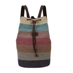 VIVA VOYAGE Canvas Back Pack From Journey Collection